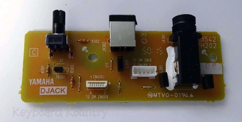 Yamaha DGX-660 Djack Board