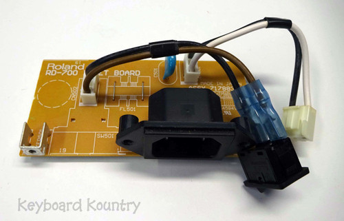 Roland RD-700 PWB Inlet Board with Switch
