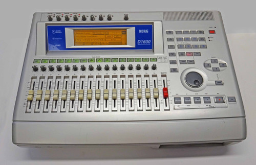 Korg D1600 Digital Recording Studio with Hard Drive & CD Burner