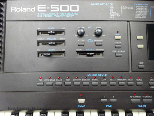 Roland E-500 Intelligent Keyboard