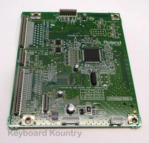 Roland Fantom G6/7/8 Sub Board Assembly