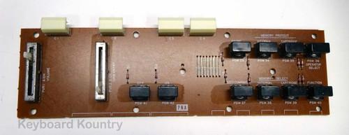 Yamaha DX7 PNA Left Panel Board