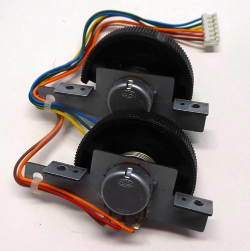 Korg X50 Pitch Bend/Mod Wheel Assembly