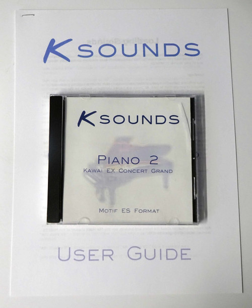Ksounds Piano 2 Kawai EX Concert Grand for Motif ES