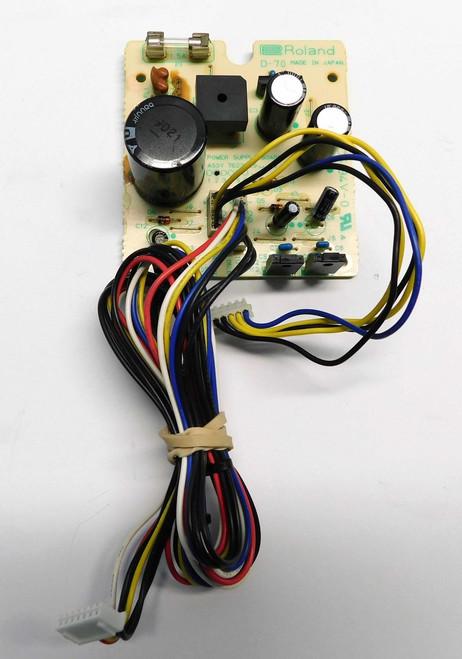ROLAND D-70 Power Supply Board
