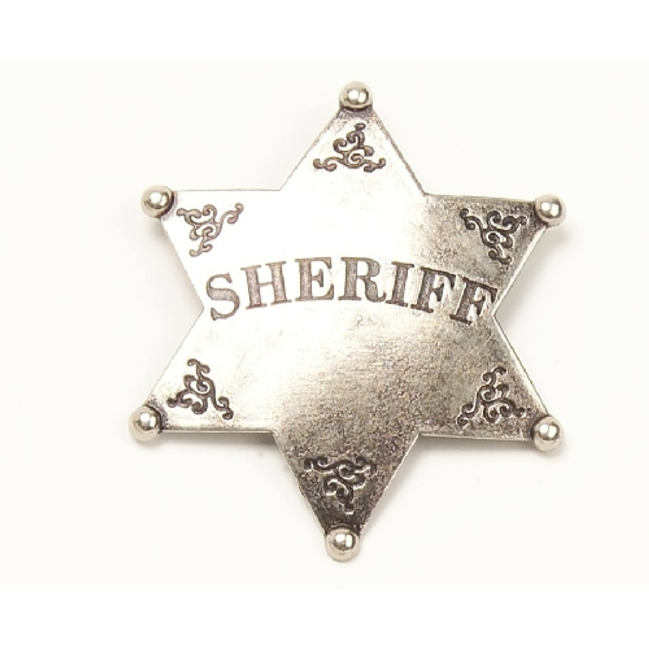 Embossed Durango Sheriff Colorado Territory  Solid Brass Badge Pin