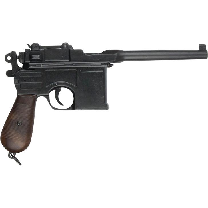 Denix WWII 1896 Mauser Broomhandle Replica Pistol Main Image