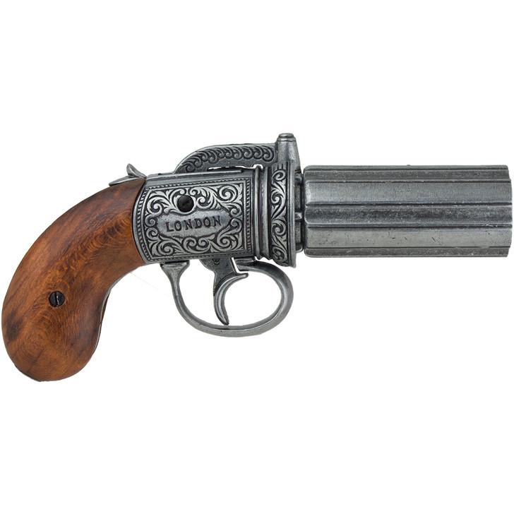 6 Shot Pepperbox Replica Revolver Main Image