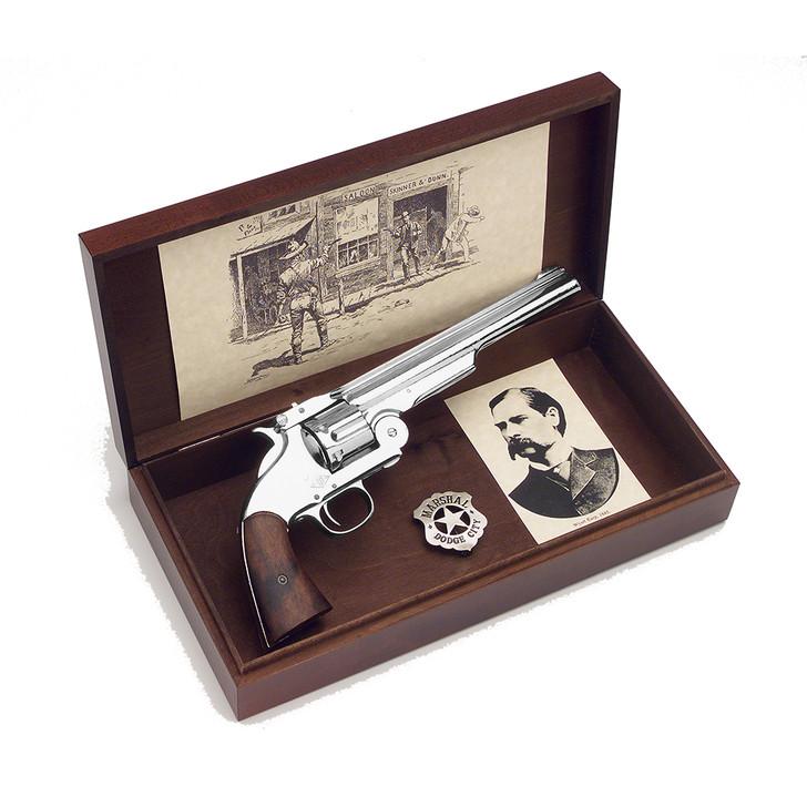 Old West Wyatt Earp Replica Revolver Boxed Set Main Image