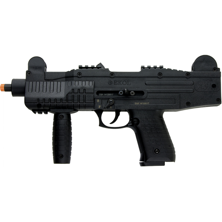 ASI Fully Automatic Front Firing Blank Gun 9mm Matte Black Main Image