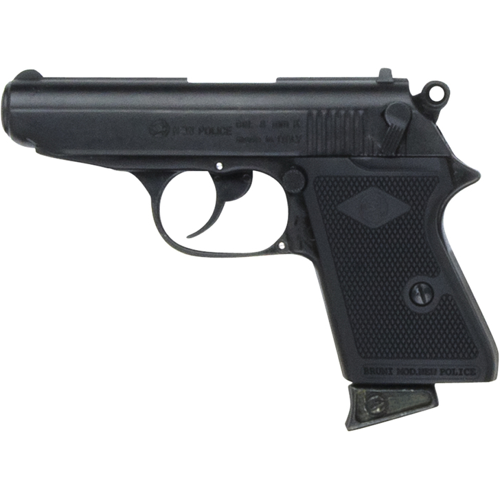 Replica James Bond Style Black 9MM Blank Firing Automatic Gun Main Image