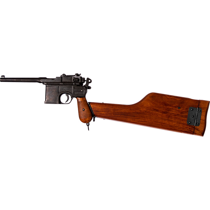 1896 C96 Mauser Replica with Wooden Stock Main Image