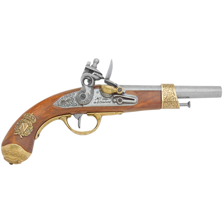 Denix Colonial 1806 Napoleonic Replica Flintlock Pistol Main Image
