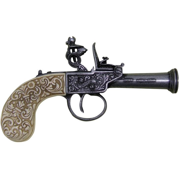 Denix 1798 English Replica Flintlock Pistol Main Image