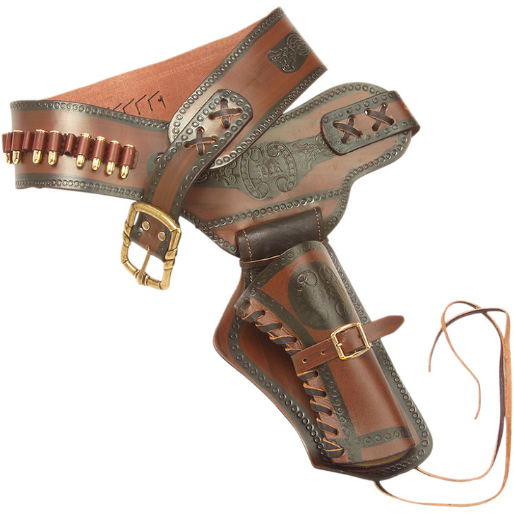 Denix Western Leather Holster with Replica Bullets Main Image