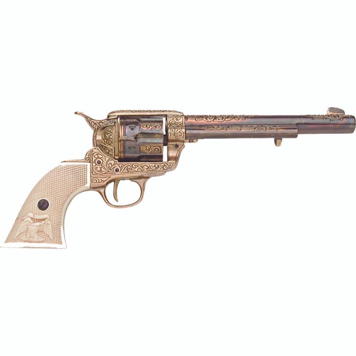 Deluxe Gold Finish Cavalry Pistol Replica by Denix Main Image