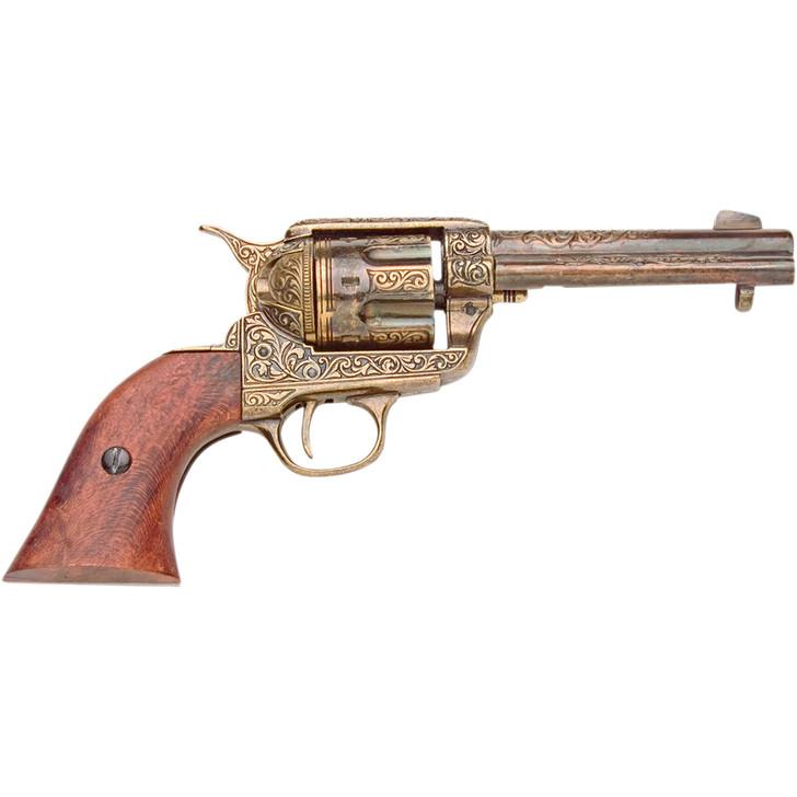 M1873 Fast Draw Replica Revolver Brass Finish Replica by Denix Main Image