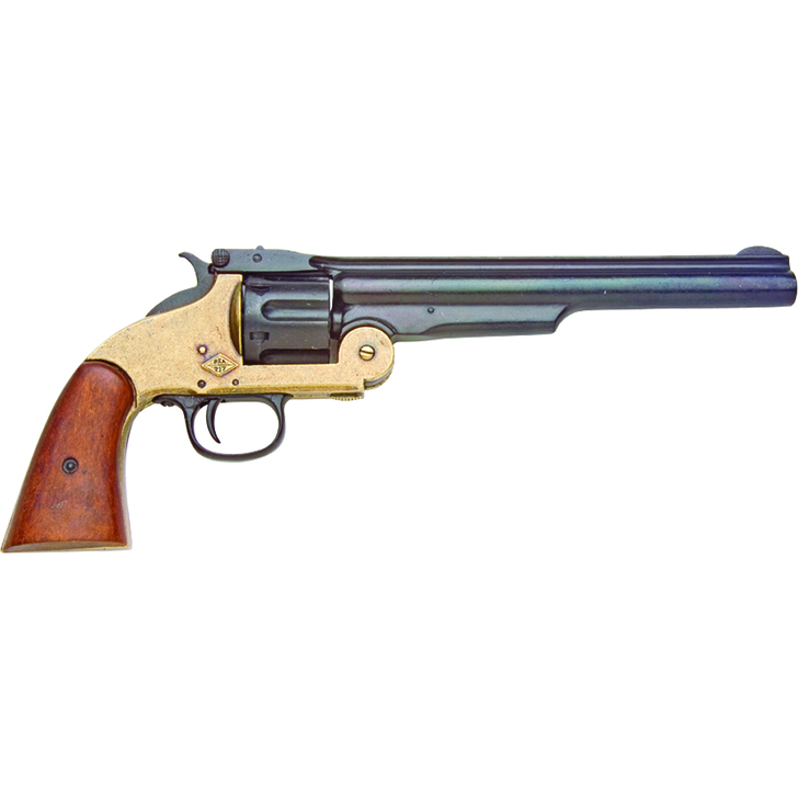 Denix M1869 Schofield Single Action Western Replica Revolver Main Image