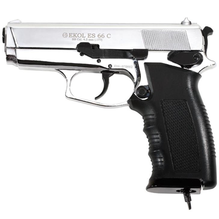 Ekol ES 66C Compact  CO2 BB Pistol - Chrome Finish Main Image