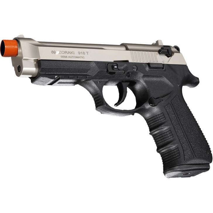 ZORAKI 918 Semi Auto Blank Pistol - Satin Main Image