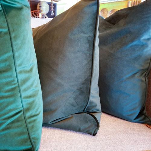 Velvet Pillow w/down fill