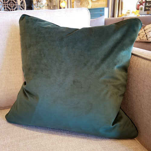 Velvet Pillow w/down fill