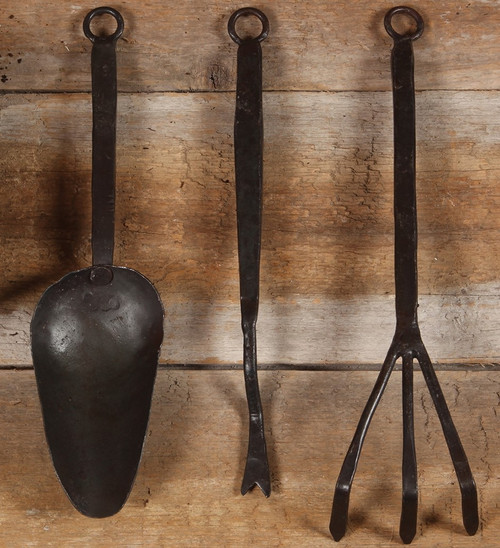 Forged Iron Garden Tool Set