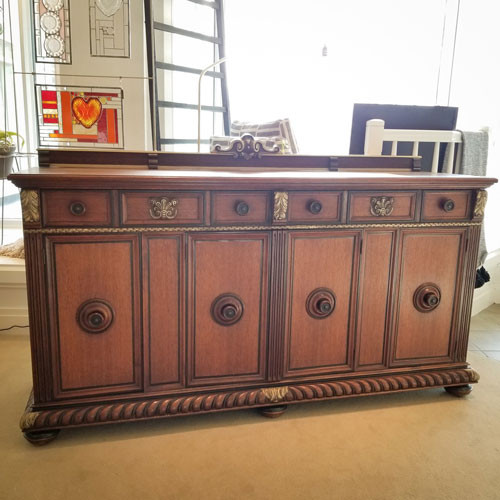 Exquisite John A. Colby and Sons Credenza