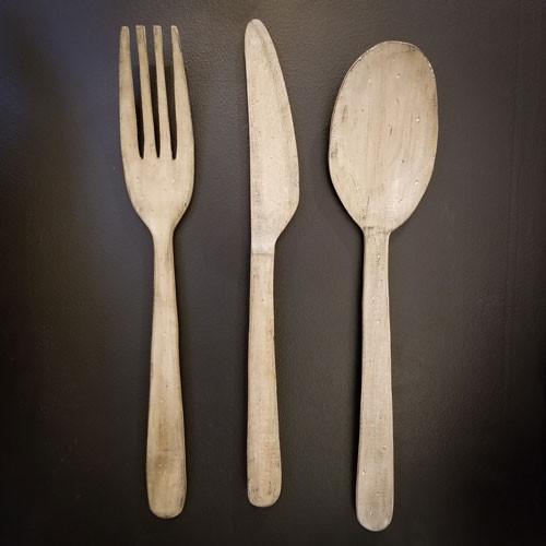 Fork, Knife & Spoon