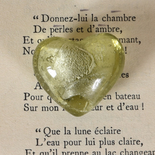 Venetian Glass Heart