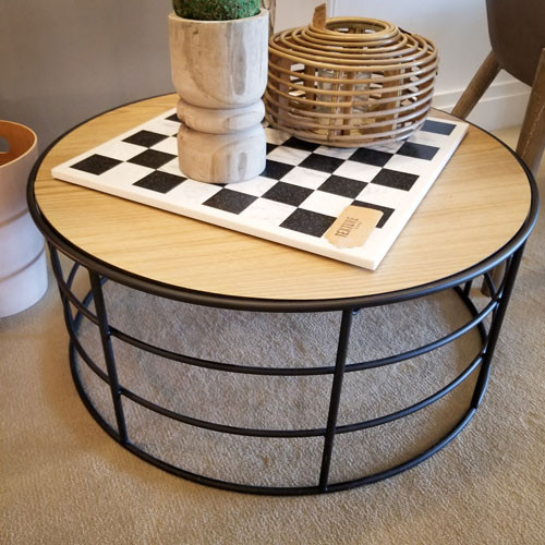 Small Industrial Cage Table
