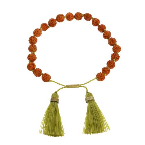 Mala and Tassel Bracelet