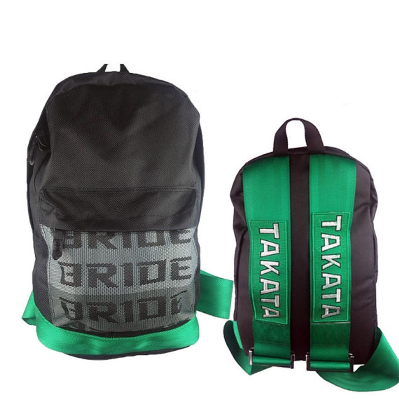 d55422ca1f7 Bride Backpack   Green Takata Straps - Karbon Kings Performance