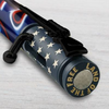 PKCP80CBK Bolt Action Ceramic Red, White and Blue Flag and Matte Black Pen Kit