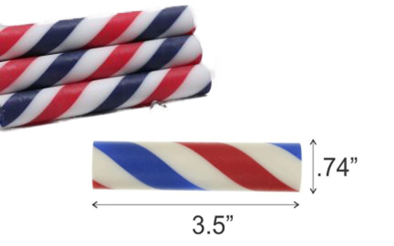 Barber Pole Blank & Fusion Razor Handle Combo