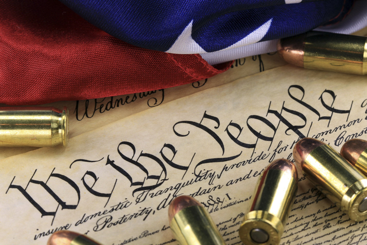 We the People Bullet Pen Blank