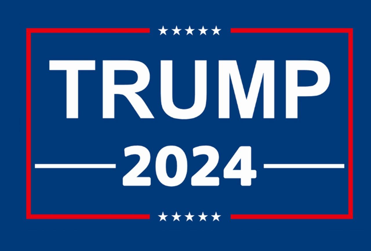Presidential Donald Trump 2024 Blue Acrylic Pen Blank