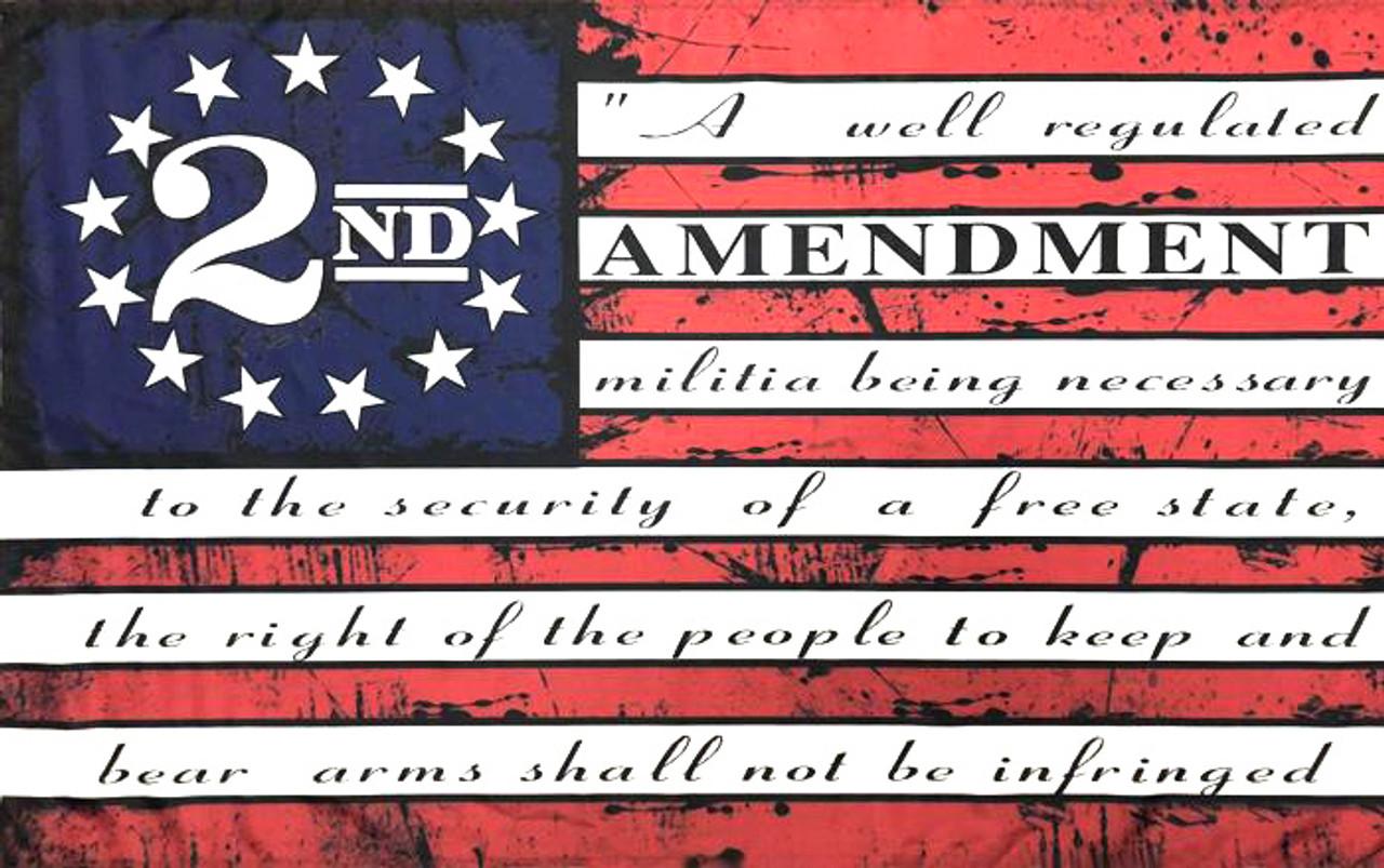 2ND AMENDMENT ACRYLIC BLANK #3