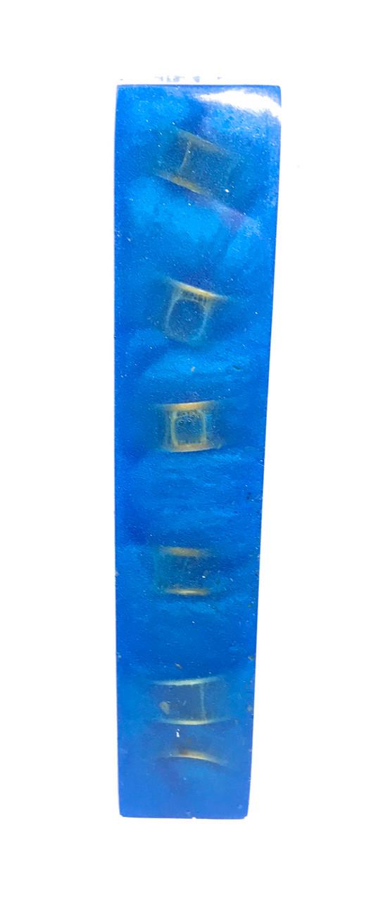 SHARK VERTEBRA PEN BLANK (Ocean Blue)