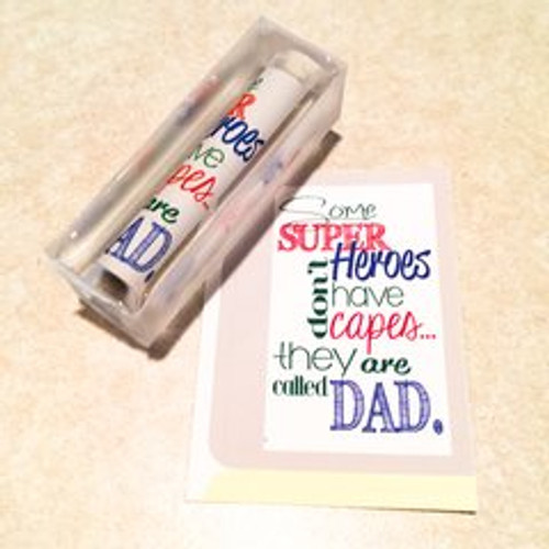 Fathers Day #2 Super Hero's Have Capes