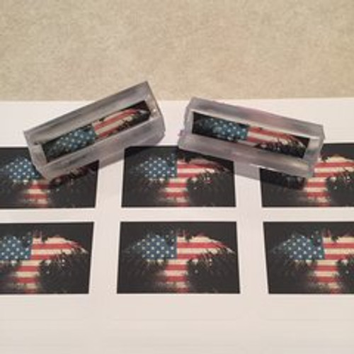 American Flag Eagle Splash Pen Blank