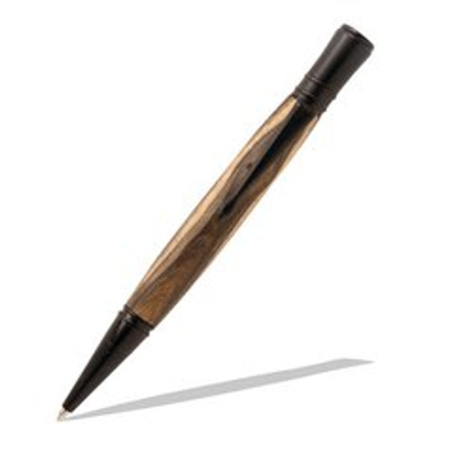 Executive Black Enamel Twist Pen Kit PKEXECPENE