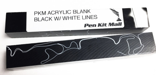 PKM BLACK WITH WHITE LINES