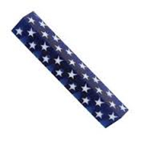 WXPABA Stars on Blue 3/4 in.x 5 in. PATRIOT Pen Blank