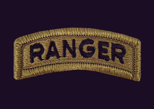 PKM Army Ranger Black Background