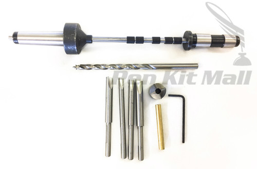 #2MT Pen Turning Mandrel and Deluxe Barrel Trimmer Kit