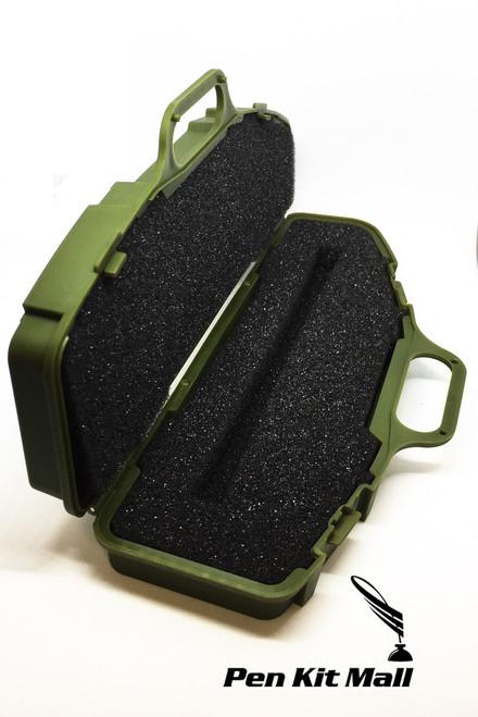 PKBOXGUNGR  Case Pen Box in OD Green