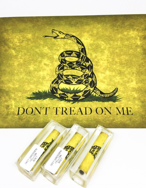 DISTRESSED GADSDEN YELLOW PEN BLANK