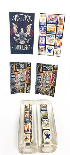 Vintage Americana 2 Replica Stamps