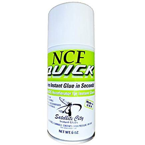 QA-6 NCF Quick 6oz aerosol CA glue ACCELERATOR